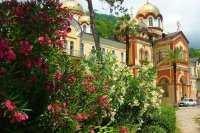 Отдых в Абхазии в октябре, Новый Афон