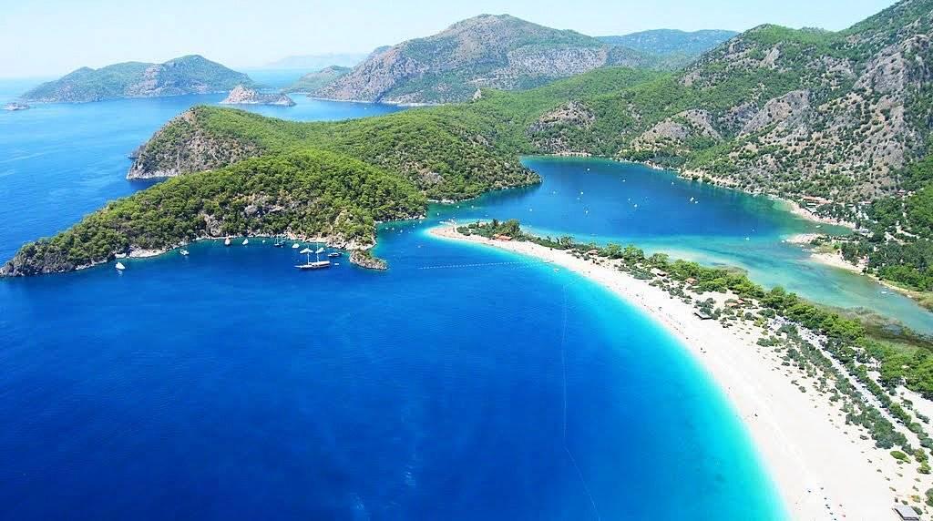 Где самое красивое море в Турции