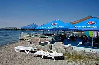 Пляжи Севана