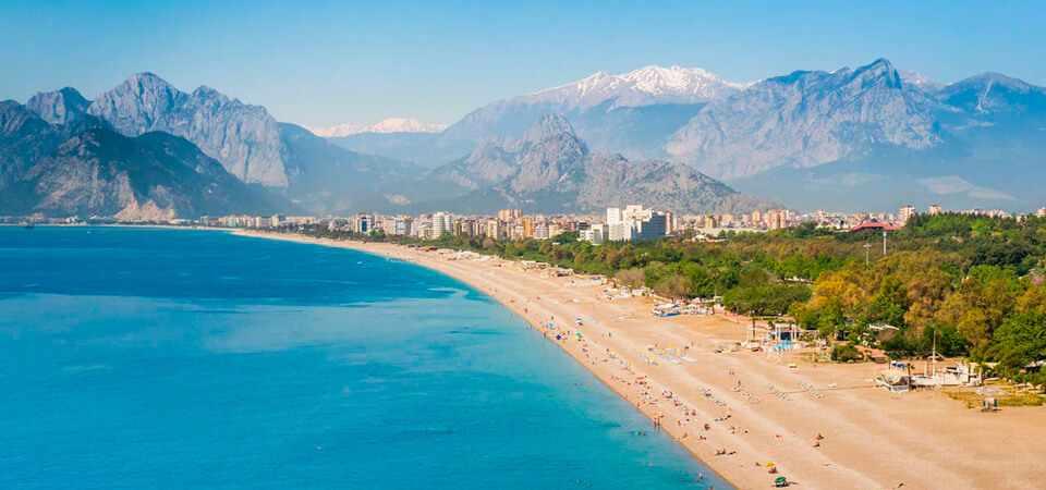 Где в Турции песчаные пляжи