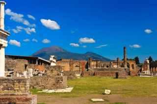 Pompeii, Mount Vesuvius