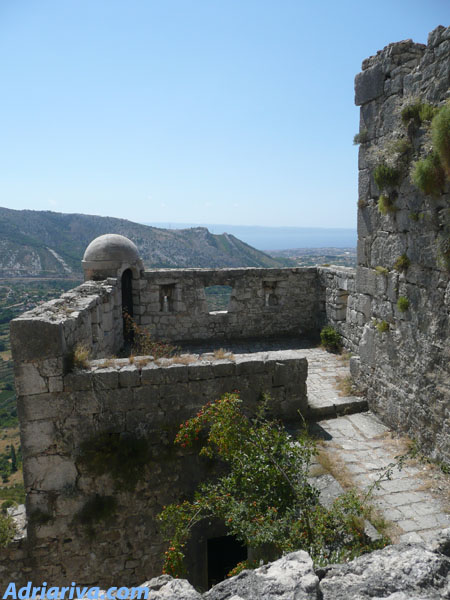 Fortress of Klis Split Croatia photo