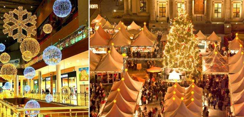 Новогодний шоппинг в Греции