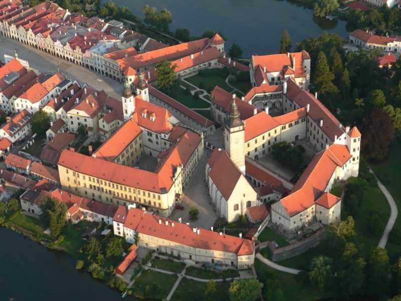 замок Телч в Чехии