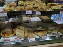 Цены  в кафе Дубровнике (Хорватия), Цены на выпечку