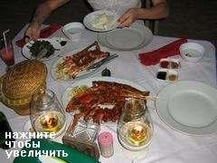 Цены на Бали на еду в ресторанах,  Ужин из морепродуктов