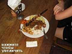 Цены на Бали на еду в ресторанах, Обед в придорожной едальне